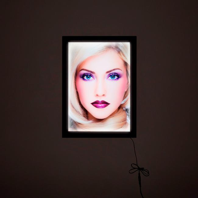 "LED Light Frame ""Ecomag"", single-sided"