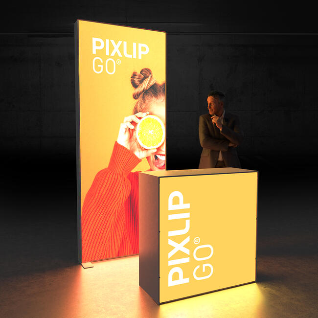 "Pixlip GO  LED Exhibition Stand  ""Stand HL10"""