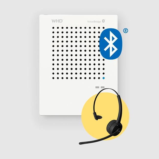 "Intercom System ""VoiceBridge"" - including Bluetooth Headset"
