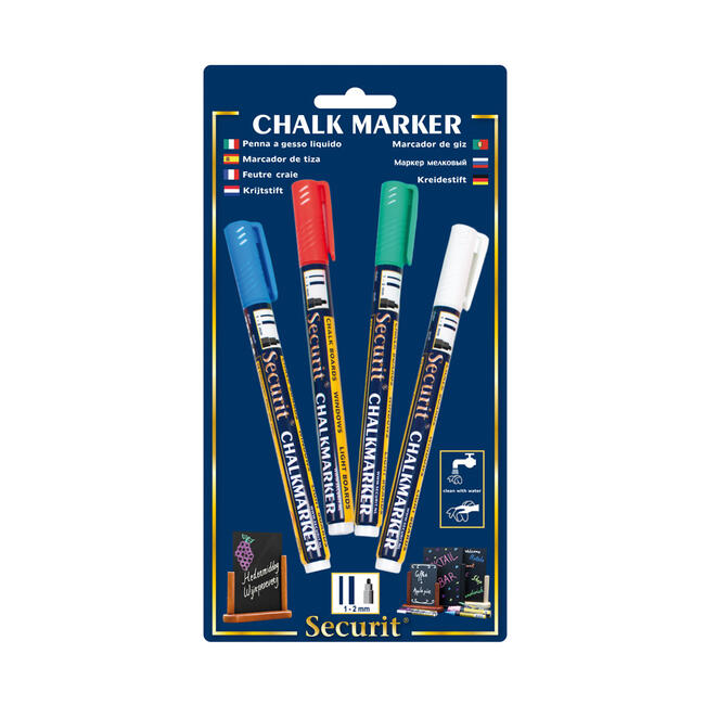 Securit Chalk Market Set