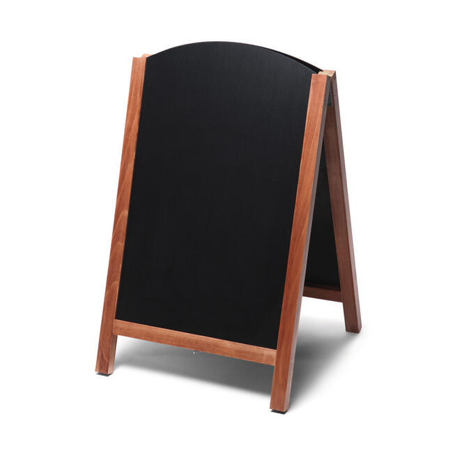Chalkboard A Board with Rounded Top