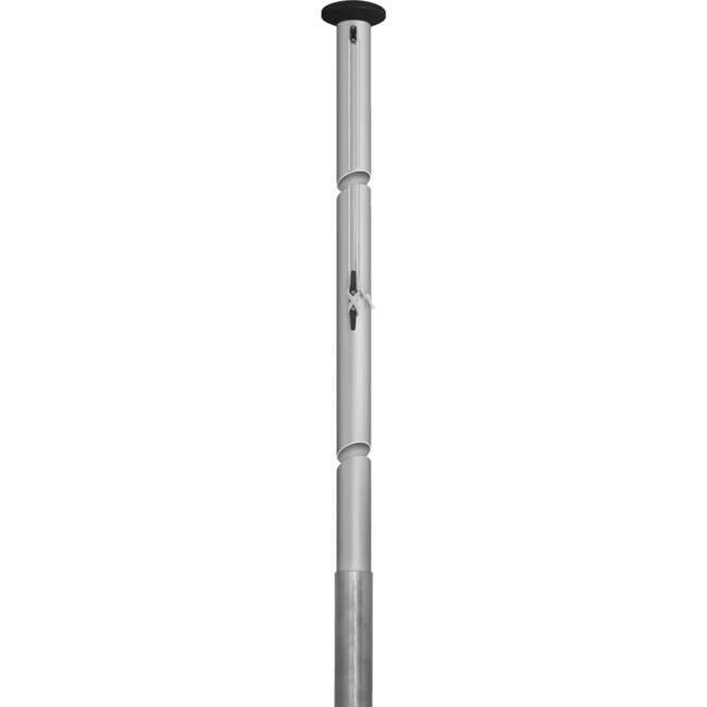 Hoist Flag Pole with outer Cable