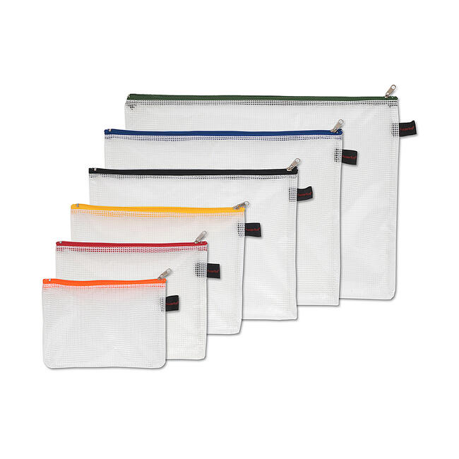 Organiser Bag made of PVC, transparent