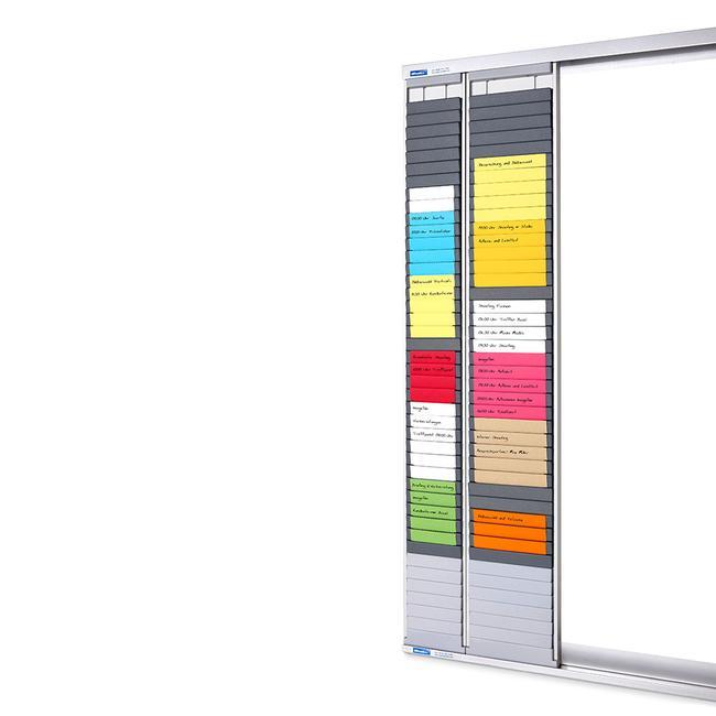 "Wall-Mounted Rail for Timecard Board ""Flexible"""