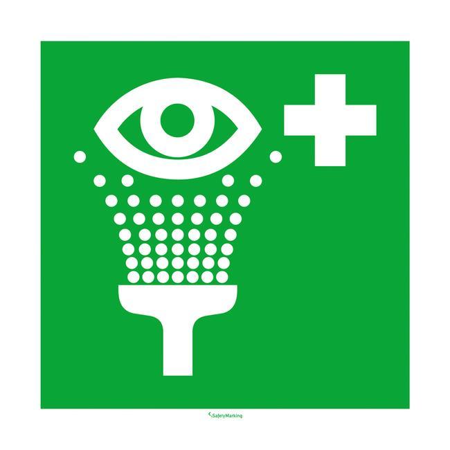Eye washing station