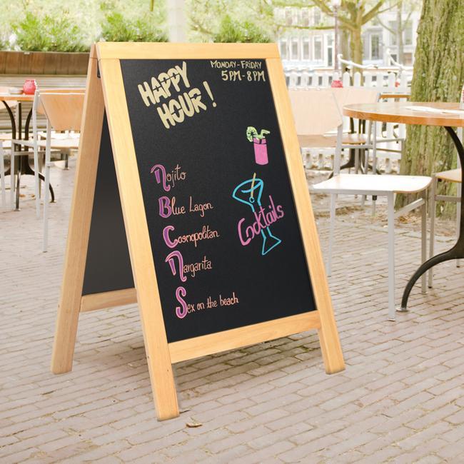 Gastronomy Pavement Sign
