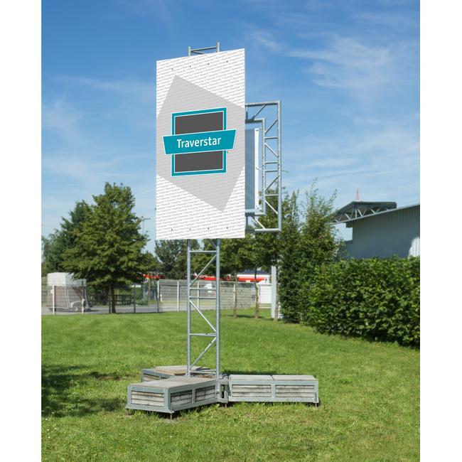 "Construction Sign System Traverstar Outdoor Fascia III ""Mobil"""