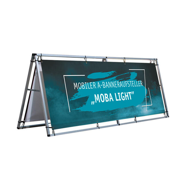 """Mobile A-banner Stand """"Moba Light"""""""