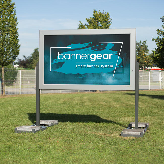 """bannergear™ Stand """"Mobile"""", 2-sided"""