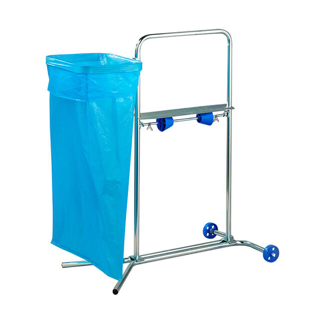 Stand for Cleaning Cloths, on castors