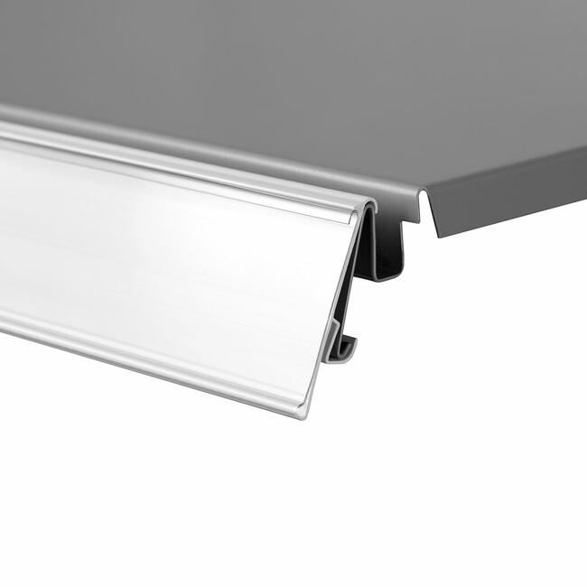 """TE 39"" with Grip Edge Shelf Edge Strip"