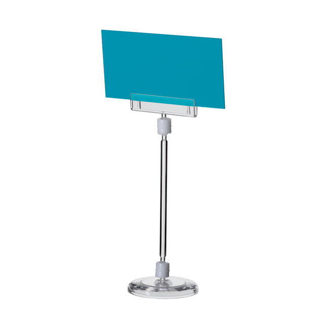 """Large Price Holder """"Sign Clip"""" with Circular Base"""