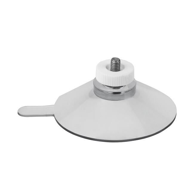 Suction Cup ø 50 mm with White Ridged Nut