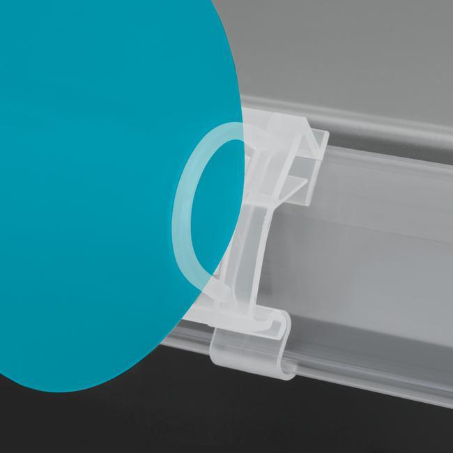 Shelf Barker Clip for 39 mm Scanner Profiles