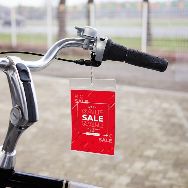 Soft PVC Price Pocket with Single Insert