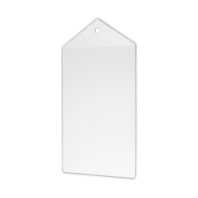 Price Pocket with Triangular Top
