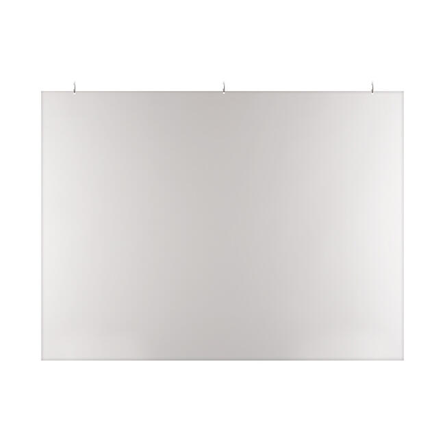 Protective Ceiling Suspension Screen made of PVC