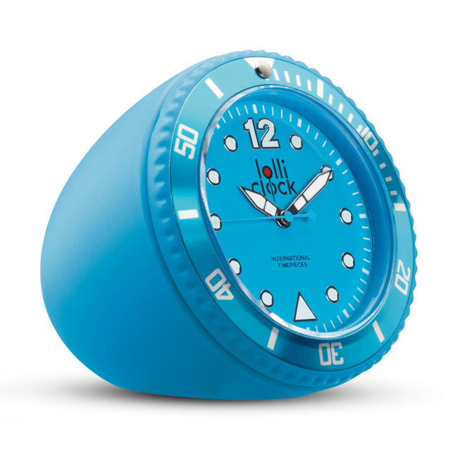 Table-Top Lolli Clock ROCK in various colours