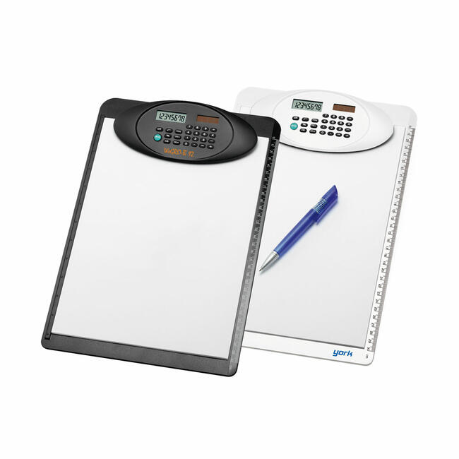 Clipboard A4 with Built-in Calculator