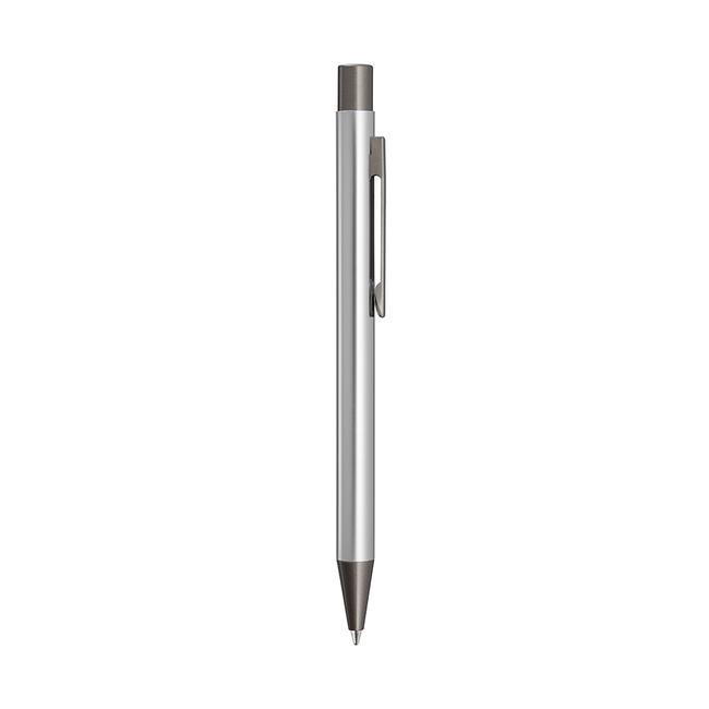 "Metal Push Button Ballpoint Pen ""Straight"" with GUN metallic applications"