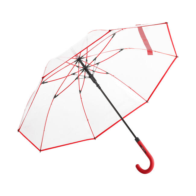 "Umbrella ""Pure"", in transparent plastic"
