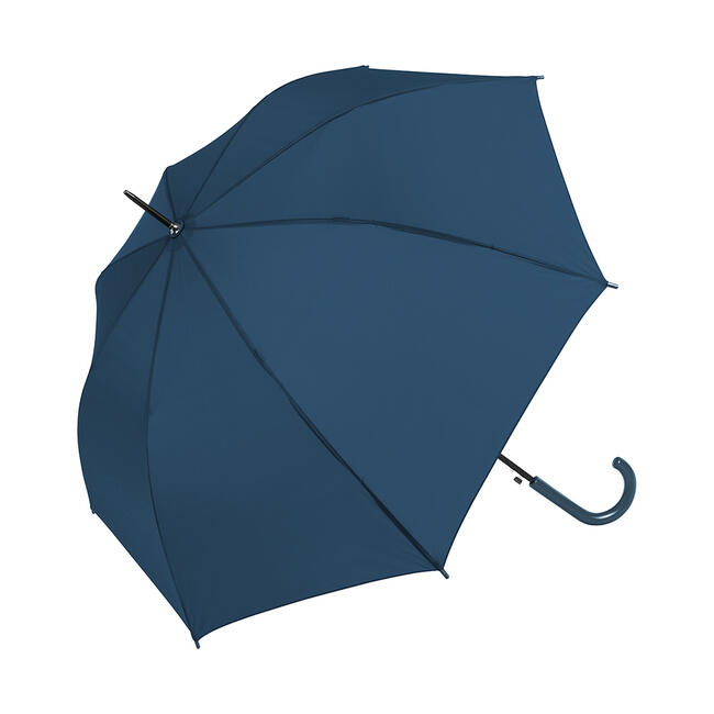 """Umbrella """"Fair"""" with coloured round hook handle and metal tip"""