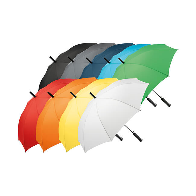 Automatic Umbrella with straight handle, coloured