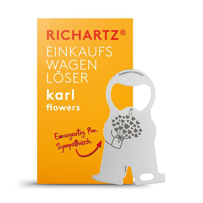 "RICHARTZ Shopping Trolley Remover ""Karl Flower"""