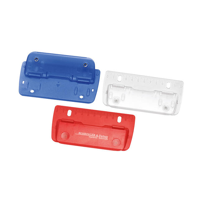 Hole Punch, flat, with 12 cm ruler