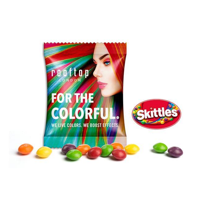 Skittles in Promotional Bag