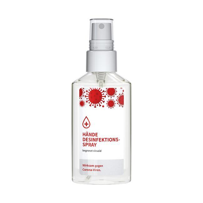 Virucidal Hand Disinfectant, spray attachment