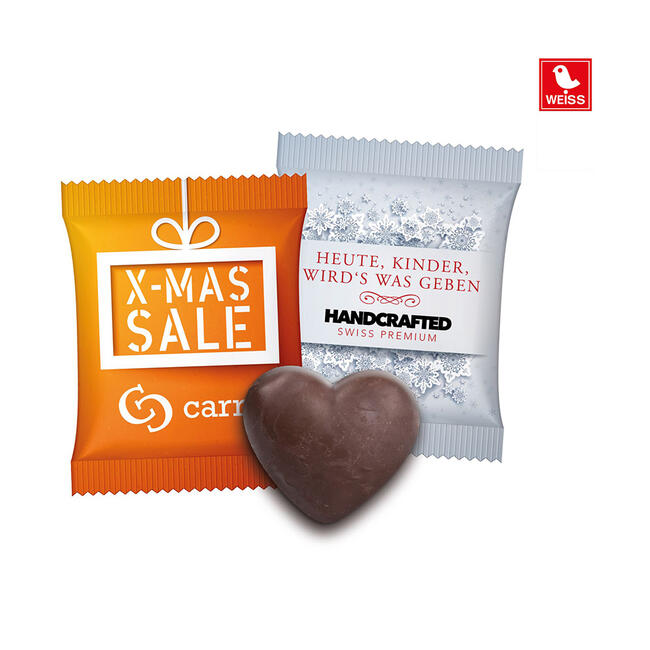 Gingerbread Heart in Promo Bag