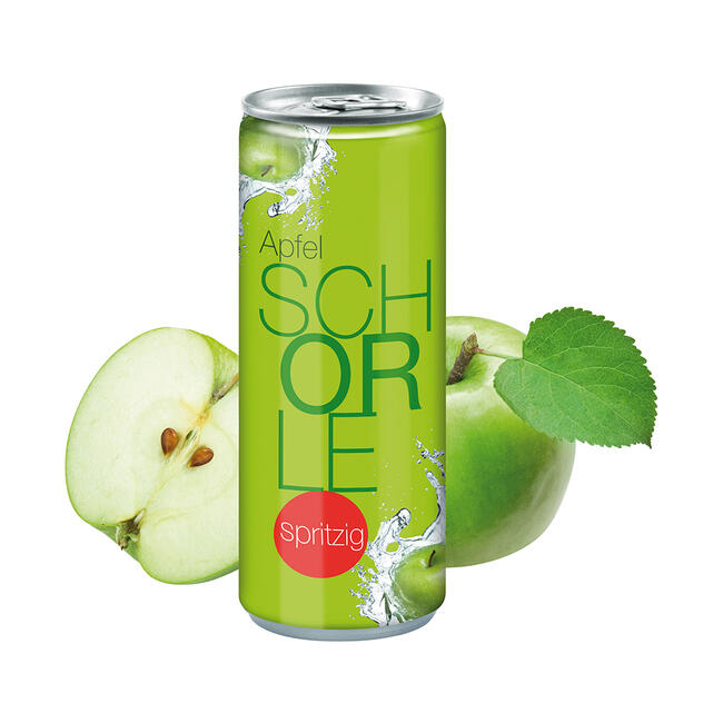 Apple Spritzer in a Can
