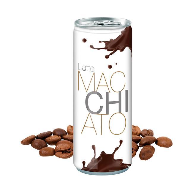 Latte Macchiato in a Can