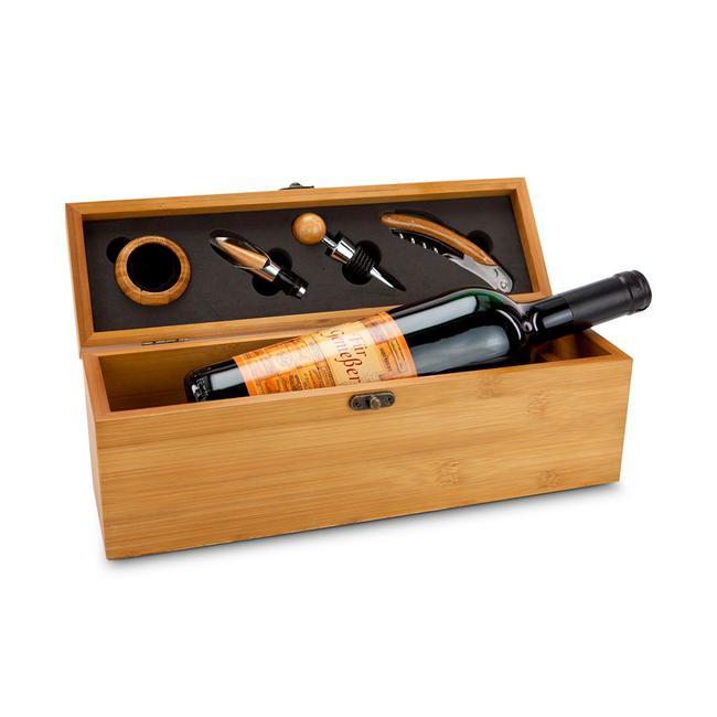 Wine in Bamboo Box