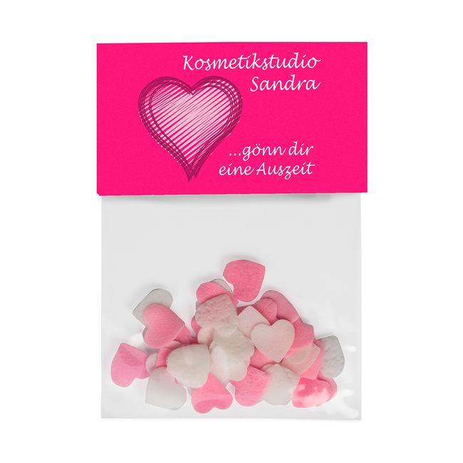Lovely Heart Bath Confetti