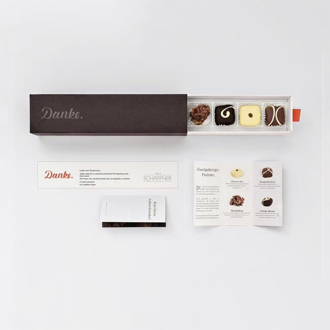 Thank You Box - The Personalisable All-in-One Gift Box