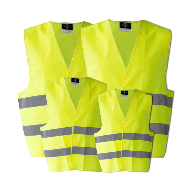 Family Pack of High Vis Jackets, EN ISO20471