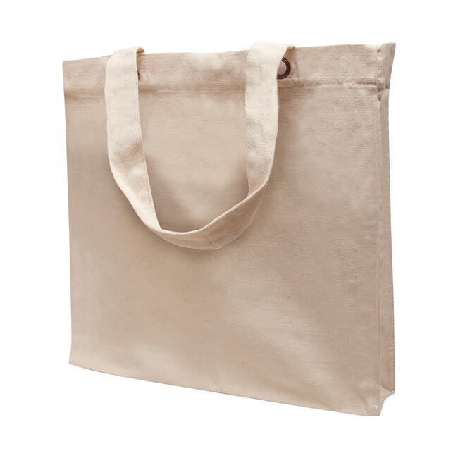 "Cotton Bag ""Lantau"" with long handles"