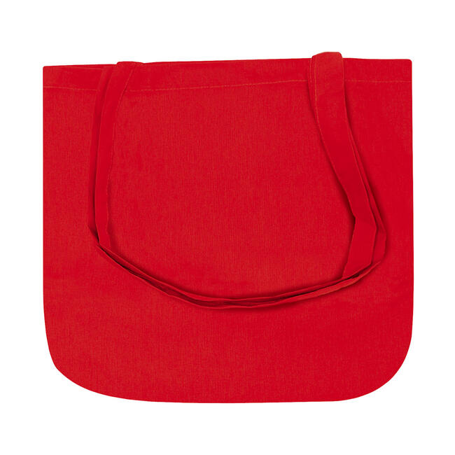 """Cotton Bag """"New York"""" with rounded bottom"""