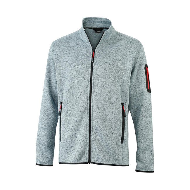 Men's knitted Fleece Jacket