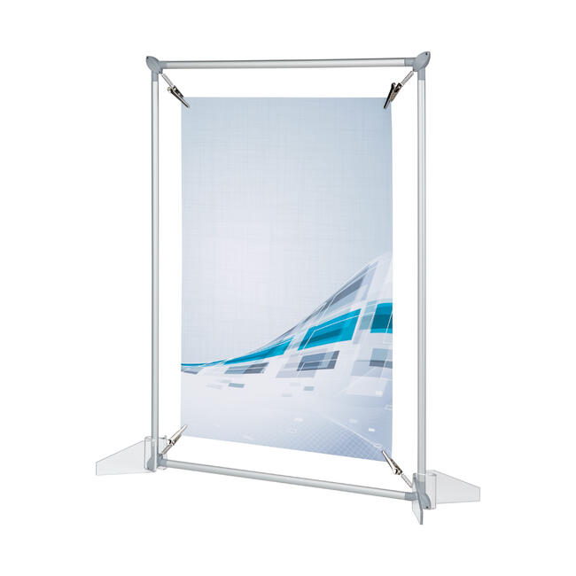 Spring-Loaded Frame with Oval Profile