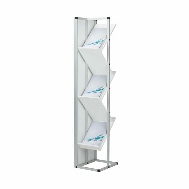 "FlexiSlot® ""Construct Z"" Leaflet Stand"