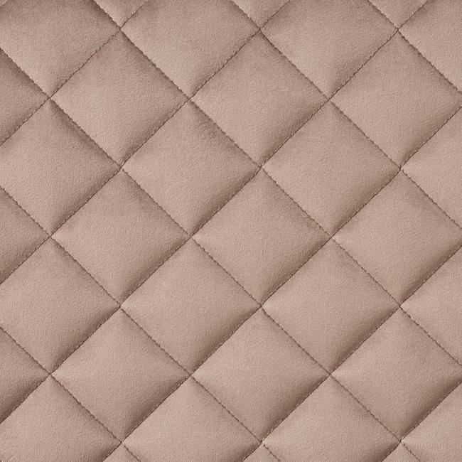 FlexiDeco-Stylepad / upholstered Fabric, diamond pattern sewn