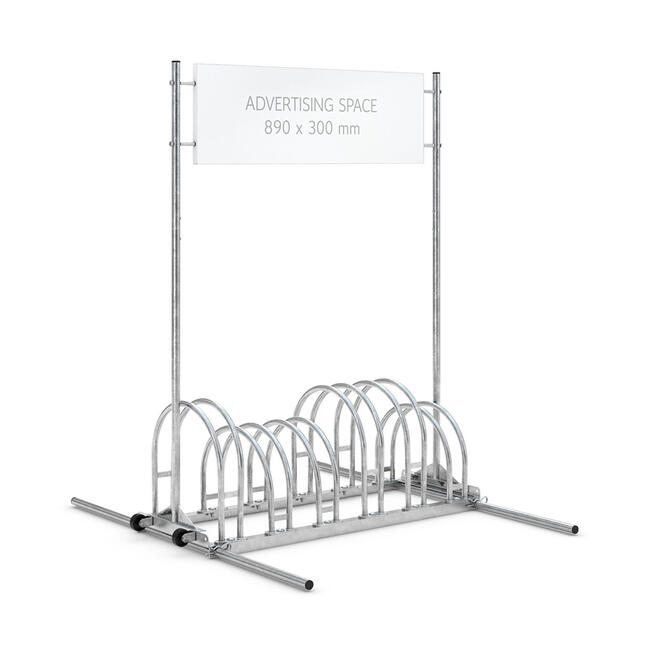 Promotional Bicycle Rack