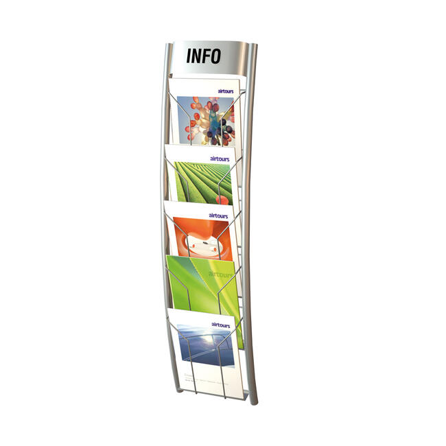 "5 Section Wallmounted Leaflet Holder ""Filio II"""