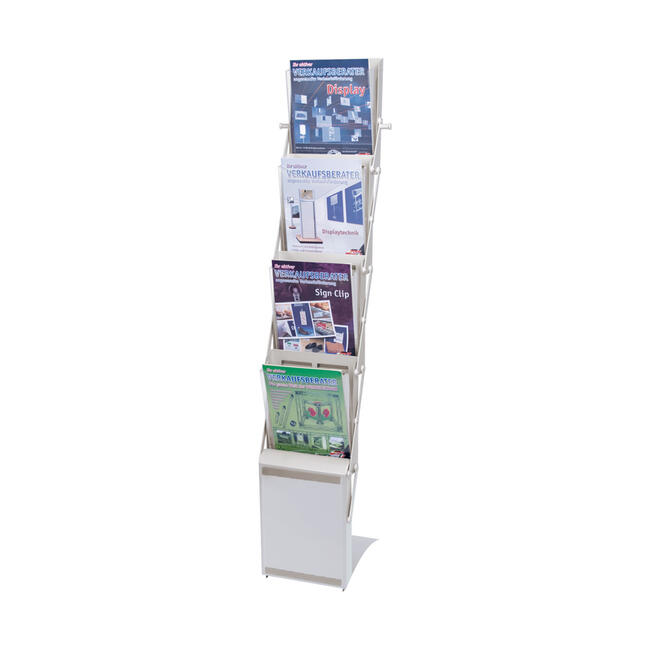 "A4 Portable Folding Literature Stand ""Doblar"""