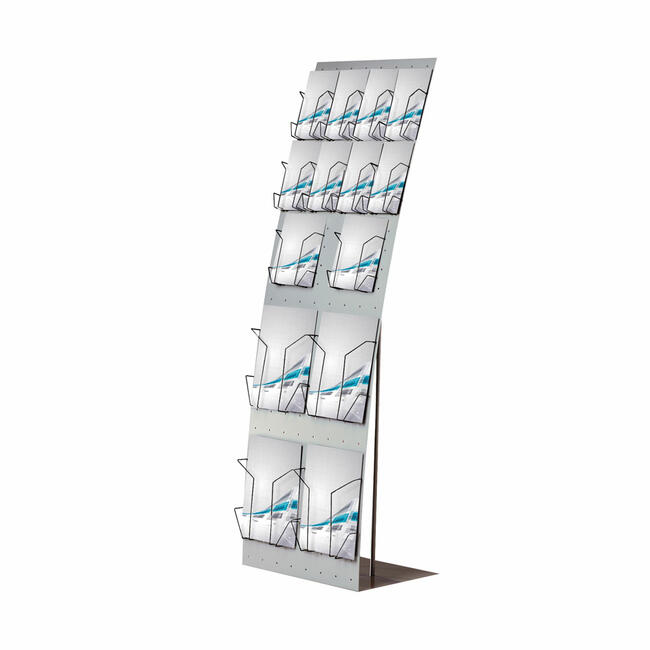 "Wire Leaflet Dispenser for Brochure Rack ""Malta"" and ""Crete"""