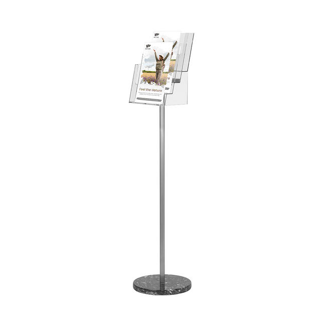 """4 Section Leaflet Stand """"Palma"""""""