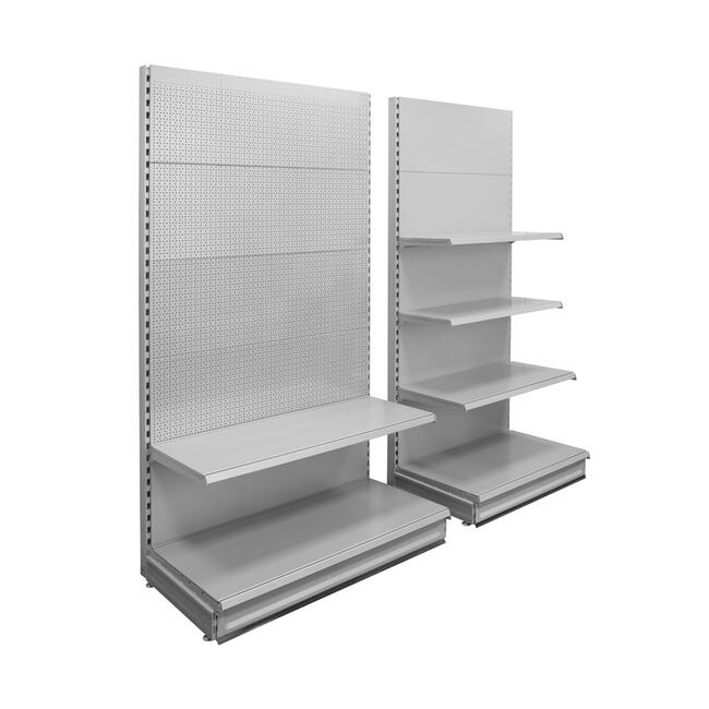 "Shelving System ""Eden"", metal Shelf with smooth Wall"